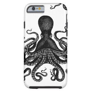 Steampunk Tough Kraken - Victorian Octopus Tough iPhone 6 Case