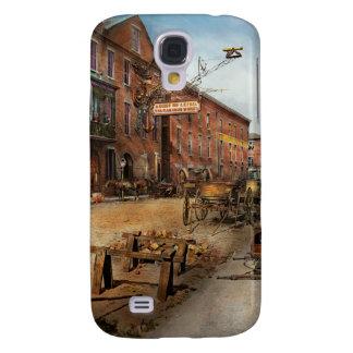 Steampunk - trabajos del hierro de Vulcan de Samsung Galaxy S4 Cover