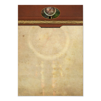 Steampunk - Train - Brake cylinder pressure Card