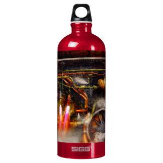 Steampunk - Train - The super express Aluminum Water Bottle