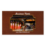 Steampunk - Train - The super express Business Cards
