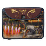 Steampunk - Train - The super express Sleeve For MacBook Pro