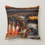 Steampunk - Train - The super express Pillows