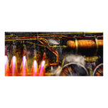 Steampunk - Train - The super express Personalized Rack Card