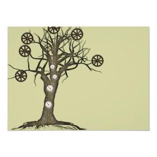 steampunk tree custom announcement