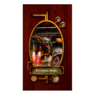 Steampunk - tren - el estupendo expresa tarjetas de visita
