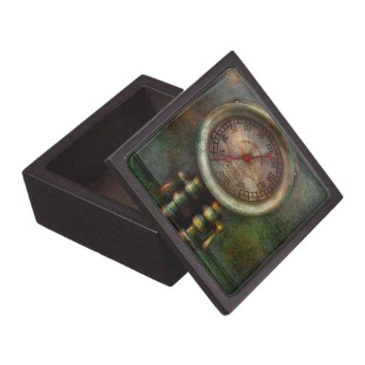 Steampunk - tren - presión del cilindro de freno caja de recuerdo de calidad