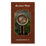 Steampunk - tren - presión del cilindro de freno tarjetas de visita