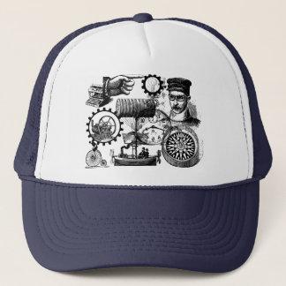 steampunk trucker hat