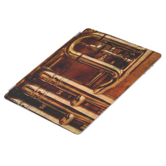 Steampunk Trumpet Parts iPad Smart Cover