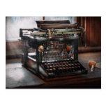 Steampunk - Typewriter - A really old typewriter Post Cards