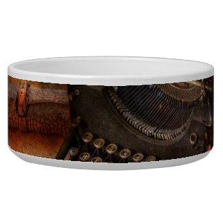 Steampunk - Typewriter - The secret messenger Bowl