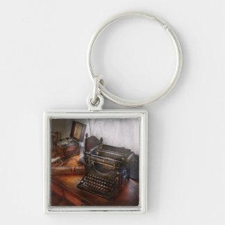 Steampunk - Typewriter - The secret messenger Keychain