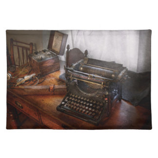 Steampunk - Typewriter - The secret messenger Placemat