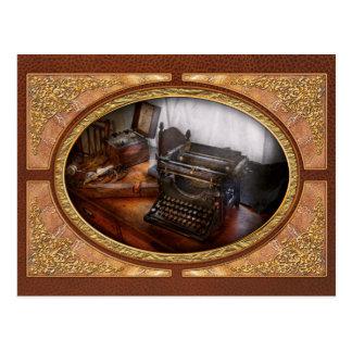 Steampunk - Typewriter - The secret messenger Postcard