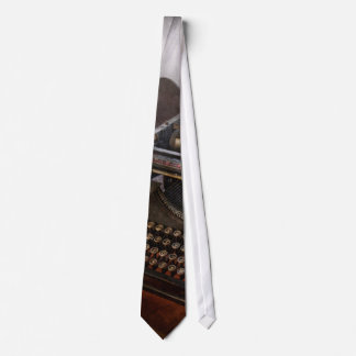 Steampunk - Typewriter - The secret messenger Tie