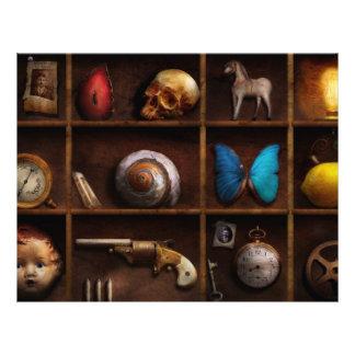 "Steampunk - una caja de curiosidades folleto 8.5"" x 11"""
