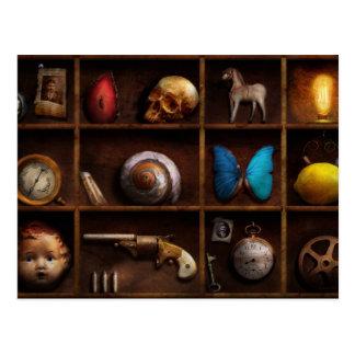 Steampunk - una caja de curiosidades postal