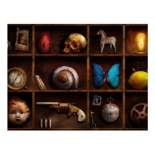 Steampunk - una caja de curiosidades tarjeta postal