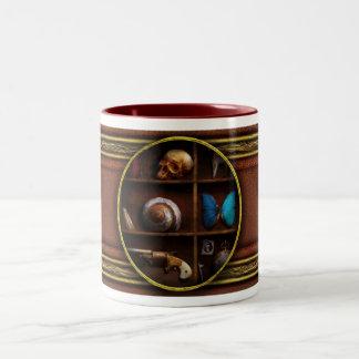 Steampunk - una caja de curiosidades taza dos tonos