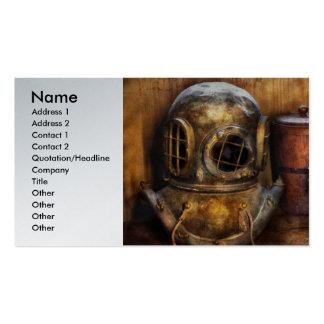 Steampunk - una colección de mis viajes tarjetas de visita