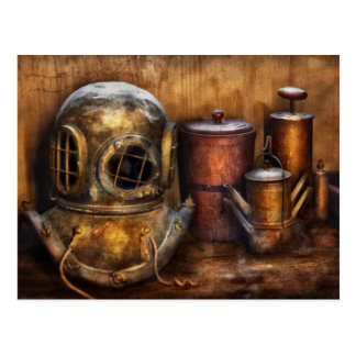 Steampunk - una colección de mis viajes postal