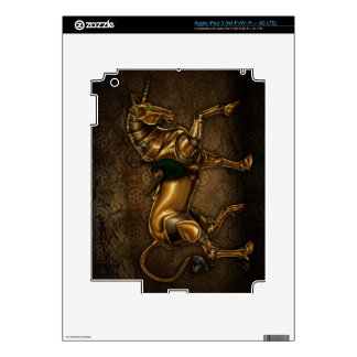 Steampunk Unicorn Damask iPad3 Skin Skin For iPad 3