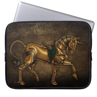 Steampunk Unicorn Computer Sleeve