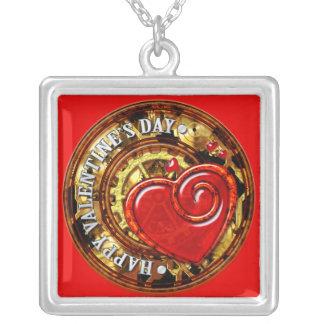 Steampunk Valentine 1  Necklace