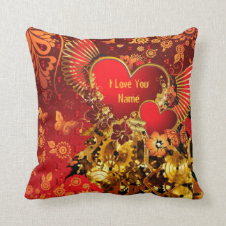 Steampunk Valentine 2 Pillow