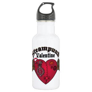 Steampunk Valentine Water Bottle