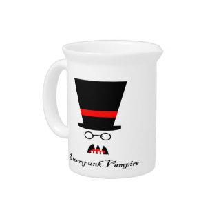 Steampunk Vampire Beverage Pitcher