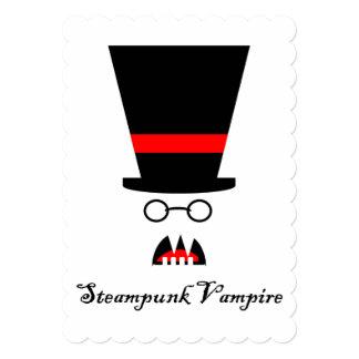 Steampunk Vampire Card