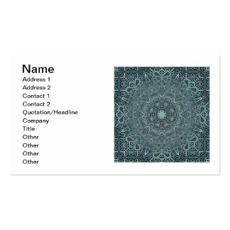 Steampunk Verdigris Lattice Double-Sided Standard Business Cards (Pack Of 100)