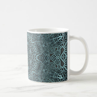 Steampunk Verdigris Lattice Coffee Mugs