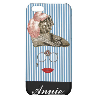 steampunk victorian funny iphone 5 cover case lady
