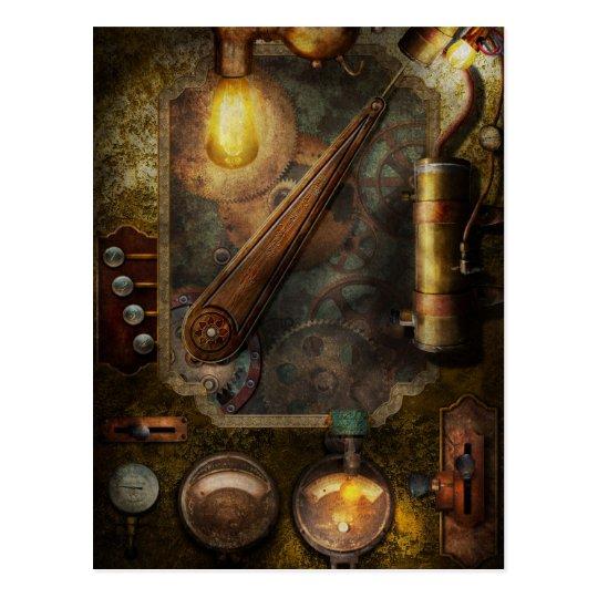 steampunk victorian fuse box postcard zazzle com rh zazzle com