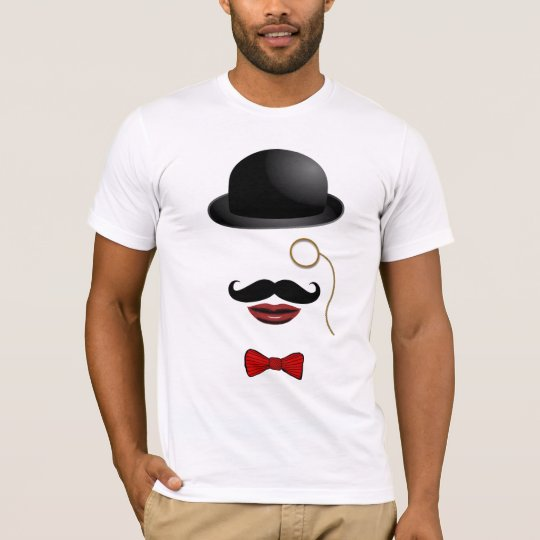 steampunk victorian man funny abstract tshirt