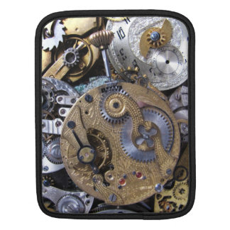 Steampunk Victorian Pocket Watch with Gears Sleeve For iPads