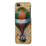 Steampunk Vintage Chic Hot Air Balloon Ride iPhone 5 Case