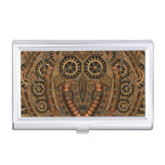 Steampunk Vintage Kaleidoscope  Business Card Case