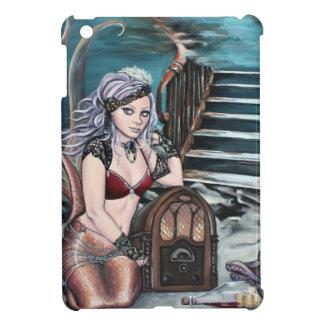 steampunk vintage mermaid where you left me iPad mini cases