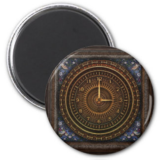 Steampunk Vintage Pocket watch Clock Magnet