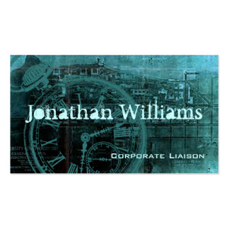 Steampunk Vintage Professional Business Cards