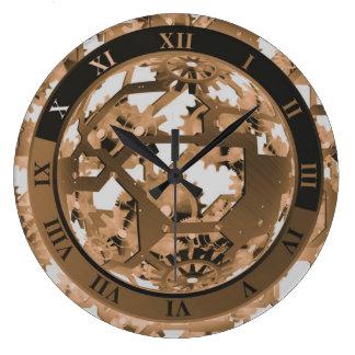 Steampunk Vintage Style Decorative Large Clock