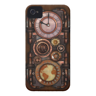 Steampunk Vintage Timepiece #1 iPhone 4 Case-Mate Cases