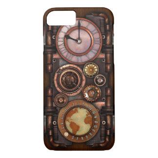 Steampunk Vintage Timepiece #1 iPhone 7 Case