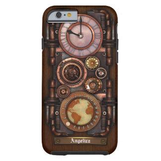 Steampunk Vintage Timepiece 1B iPhone 6 Case