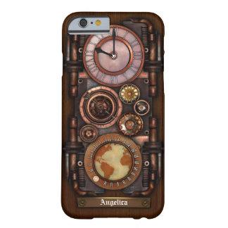 Steampunk Vintage Timepiece #1B iPhone 6/6S Case