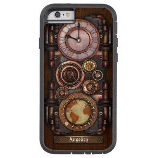 Steampunk Vintage Timepiece #1B Tough Xtreme iPhone 6 Case